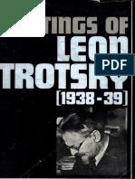 Writings of Leon Trotsky - V. 11 (1938-39)
