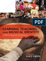 Learning Teaching and Musical Identity Voices Across Cultures