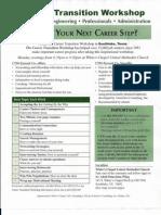 Career Transition Workshop-Southlake