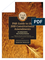 2018 PAR Guide to Constitutional Amendments