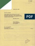 Quarantine Fan Letter
