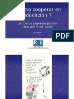 Como Cooperar en Educacion
