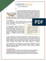 el acto administrativo y las obligaciones