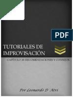 Capítulo 10 - Recomendaciones y consejos