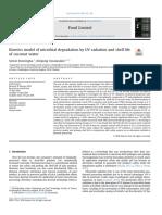 Kinetics Model of Microbial Degradation by UV %28Donsingha%2c 2018%29