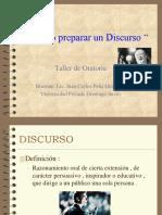 [PD] Presentaciones - Como Preparar Un Discurso