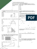 Matematica Lista pitagoras