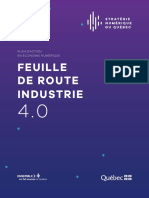 Feuille Route Industrie 4 0