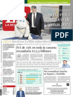 Diario La República - Lunes 22 de Octubre de 2018