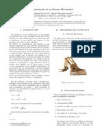 Parametrizacion de un sistema mecatronico
