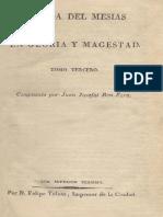 Manuel Lacunza - Venida del Mesías en gloria y majestad Tomo III.pdf