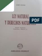 Ley Natural y Derechos Naturais Estudio Preliminar12074676576