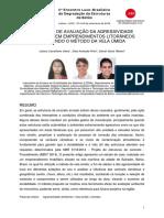 Artigo Degrada - avaliação de agressividade ambiental metodo vela umida