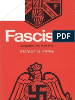 PAYNE, Stanley G. Fascism. Comparison and Definition