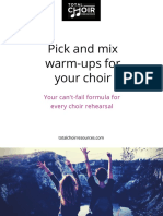 Total Choir Warmups