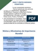 Micotoxinas y Límites Permitidos.