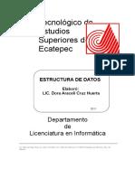 Manual Estructura de Datos