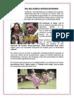 Dia Nacional Del Pueblo Afroecuatoriano