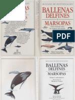Carwardine Mark - Manual de Identificacion de Ballenas Delfines Y Marsopas