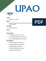 Causas y Consecuencias de La Deficiencia de La G6PD
