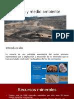1. Minería y Medio Ambiente