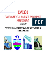 2015 Cvl300 Presentation 9 - Project Need, The Project and Environments to Be Affected