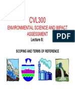 2015 CVL300 Presentation 8 - Scoping and Terms of Reference