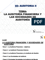 01 CLASE - Auditoria Financiera y Sociedades de Auditoria