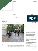 Balacera en La Casa de Norberto Rivera; Un Muerto - La Jornada