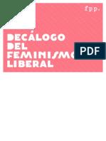 Decálogo del Feminismo Liberal. Fundación para el Progreso (Chile)