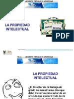 Propiedad Intelectual - Generalidades Colombia