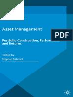 Asset Management - Portfolio Construction, Performance and Returns