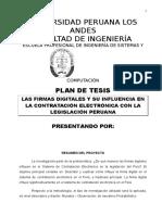 Modelo de Proyecto de Tesis