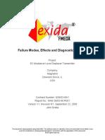 FMEDA E3 Modulevel (1)