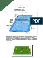 Medidas de Una Cancha de Futsal Vóley Básquet