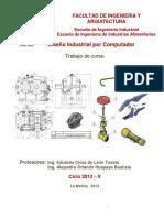Di-2013-2 Presentación Del Informe Del Trabajo Grupal