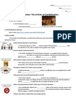 guided notes-the articles of confederation with fill-in-the-blanks