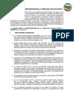 Bases de La Feria Del Pollito 2018-2