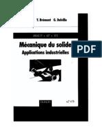 Mecanique Du Solide Applications Industrielles