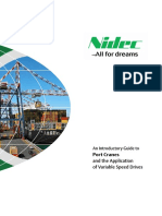 An Introductory Guide to Port Cranes and the Application of Variable Speed Drives Iss1x 0704 0005 01x