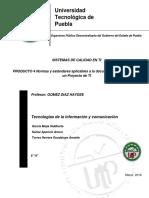 Normas y Estándares Aplicables a La Documentación y Diseño de Un Proyecto de TI_final
