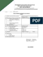 Surat Perintah Perjalanan(Sppd)