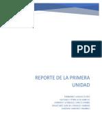 REPORTE DE LA 1° UNIDAD
