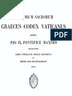 BÍBLIA EM GREGO - MANUSCRITO CODEX VATICANUS-(I.B).pdf