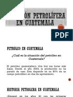 Petróleo en Guatemala