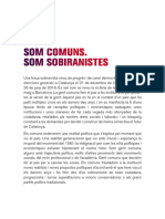 Som Comuns Som Sobiranistes