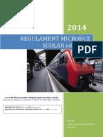 Regulament Folosire Microbuz Scolar Ed1 Rev1