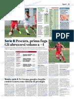 La Provincia Di Cremona 22-10-2018 - Serie B