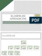Klasifikasi Appendicitis