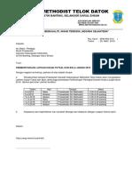 Surat Pemberitahuan Latihan Sukan